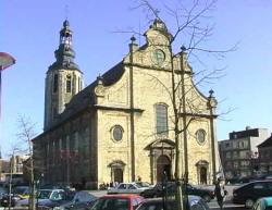 St Ludgerus kerk in Zele.